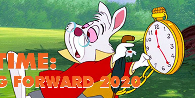 It's Time: Spring Forward 2020